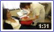 血液フォトセラピー(紫外線血液照射療法)(1/3) ~専用の注射器で採血~